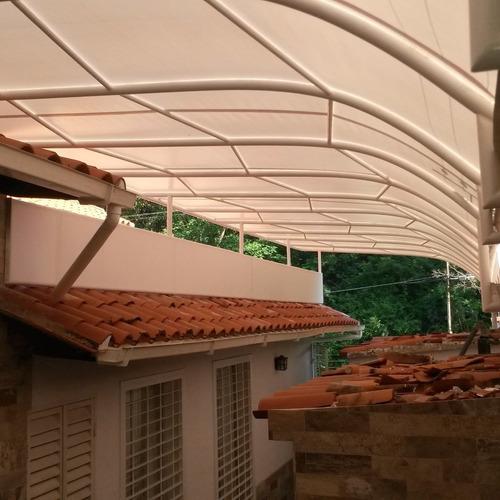 toldos y techos en lona