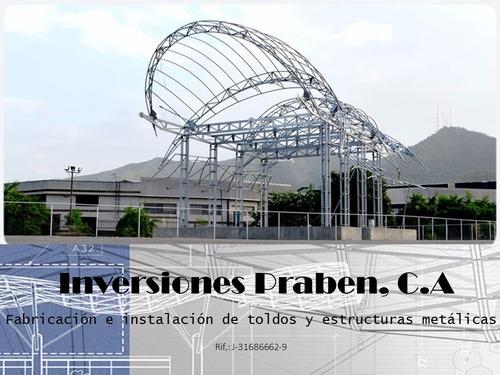 toldo,techos en lonas-tenso estructura,mantenimientos,ventas