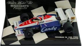Minichamps 1//43 F1 Toleman TG183 B 1984 Cecotto
