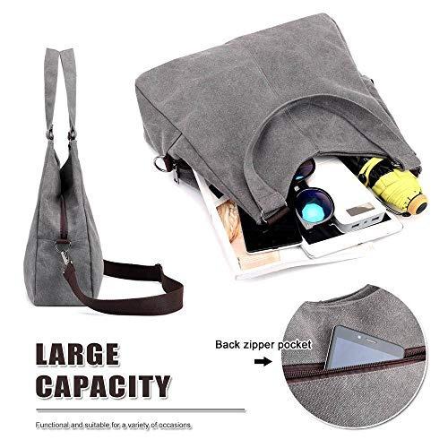 69a46a4a81a4 Tolfe Mujeres Top Handle Satchel Handbags Bolso De Hombro
