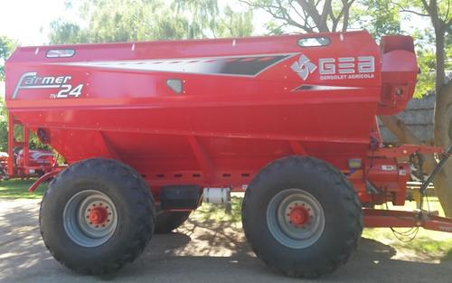 tolva autodescargable gea modelo farmer 24000 lts. nueva