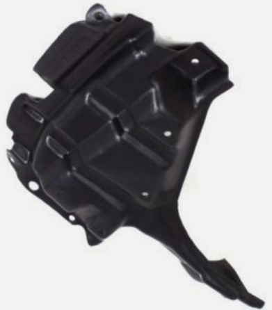 tolva inferior de motor derecha toyota yaris 2007 - 2012