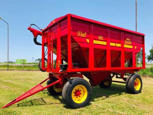 tolva semilla fertilizante 14 mts. carro