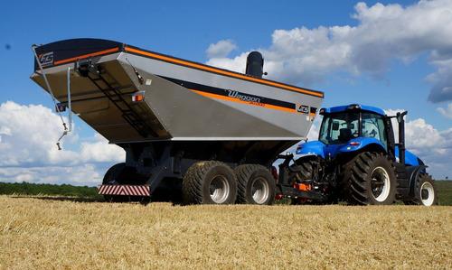 tolva upgrain gts 18.000 lts maquinaria agrícola