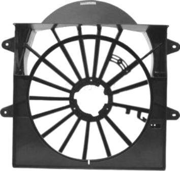 tolva ventilador de radiador commander 2006 - 2010 nuevo!!!