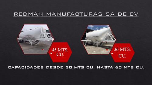 tolvas presurizadas / dry bulk trailer