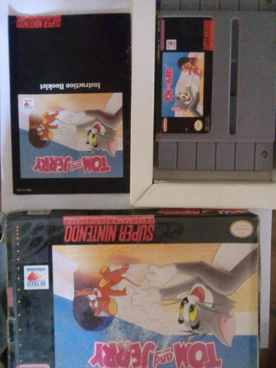 tom and jerry snes