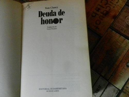 tom clancy deuda de honor