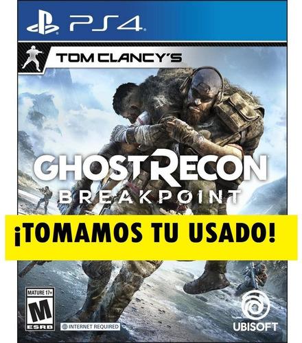 tom clancy ghost recon breakpoint ps4 fisico sellado nuevo