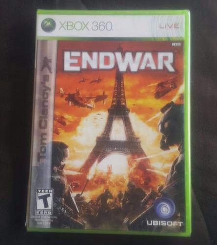 tom clancys - endwar - en español - fisico / xbox 360
