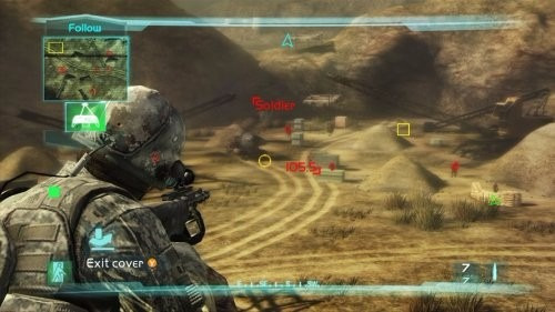 tom clancy's ghost recon advanced warfighter 2  - xbox360