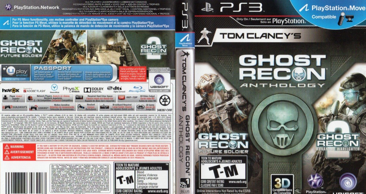 Tom Clancy's Ghost Recon Anthology Ps3 Fisico - $ 550,00