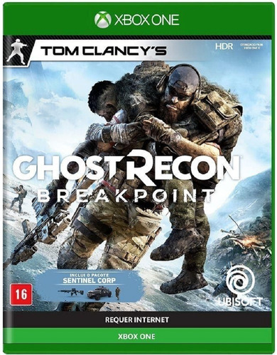 tom clancys ghost recon breakpoint xbox one midia fisica