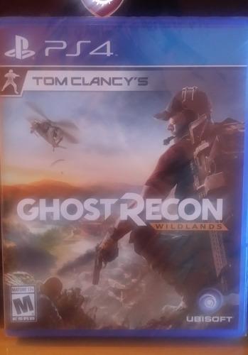 tom clancy's ghost recon wildlands - fisico - playstation 4