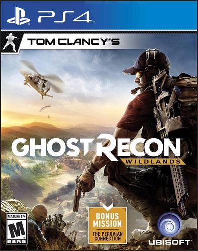 tom clancy's ghost recon wildlands ps4 acepto cambio gxa