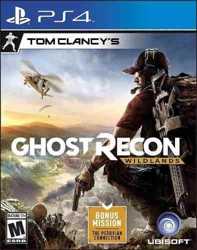 tom clancys ghost recon wildlands ps4 sellado en palermo.