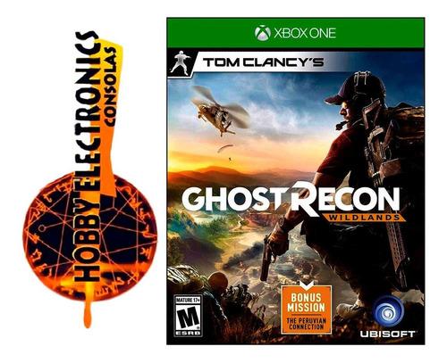 tom clancys ghost recon wildlands xbox one disco fisico