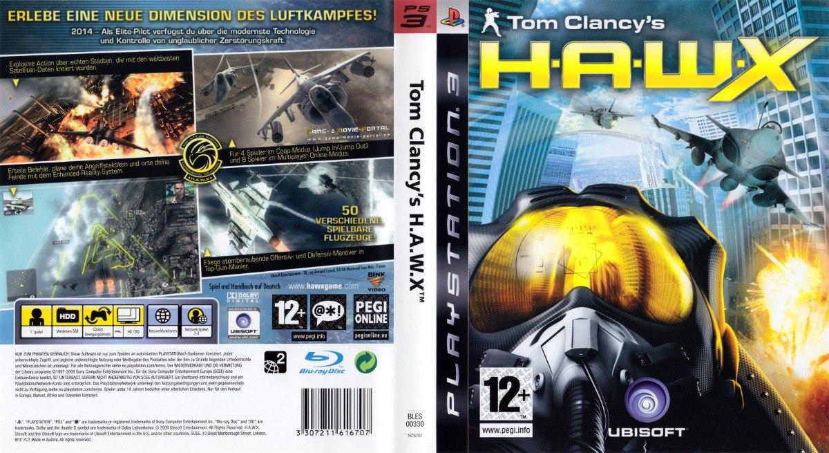 Tom Clancy's H a w x Ps3 Fisico - $ 410,00