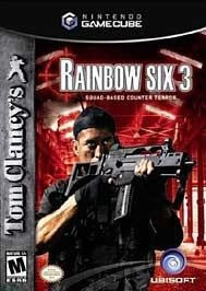 tom clancys rainbow six 3 squad based counter  game cubeywii