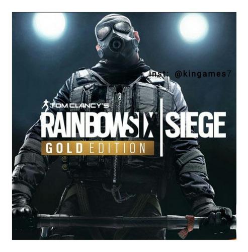 tom clancy's rainbow six siege gold edition ps4