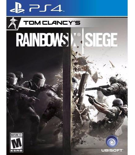 tom clancy´s rainbow six siege ps4 disco físico envío grátis