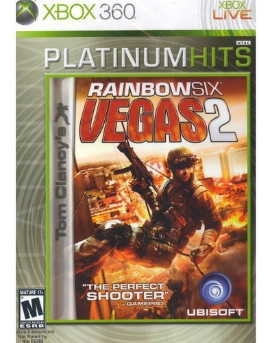 tom clancy's rainbow six vegas 2 xbox 360 fisico español