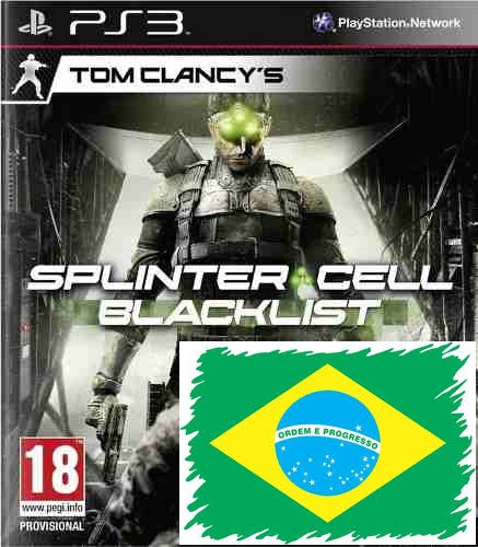 tom clancys splinter cell blacklist ps3 psn - midia digital
