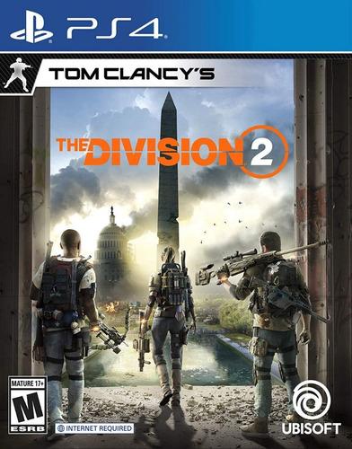 tom clancy's the division 2 ps4 - físico - envío gratis