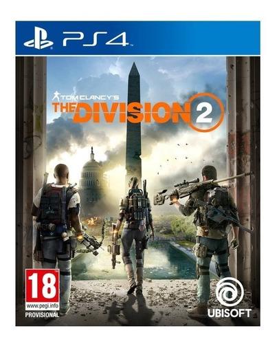 tom clancys the division 2 - ps4 - fisico - lanzamiento