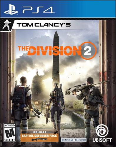 tom clancy´s the division 2 ps4 fisico sellado envio gratis