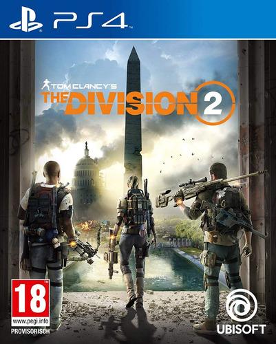 tom clancys the division 2 ps4 fisico sellado original !!!