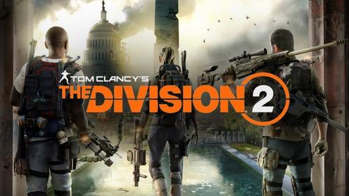 tom clancy's the division 2 ps4 físico sellado video opcion