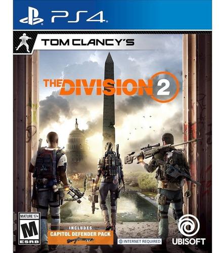 tom clancy's the division 2 ps4. fisicos y sellados ya!!!