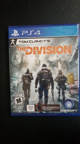 tom clancys the division ps4 / deja tu juego