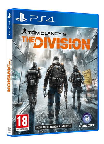 tom clancy's the division (ps4) usado