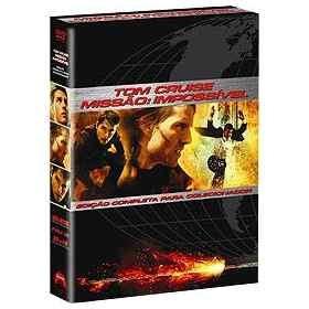 tom cruise: missão impossível edição completa- box 3 dvds!