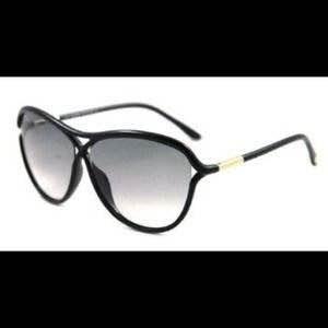 6bd715e1c0983 Óculos Sol Tom Ford Tabitha Original Novo Aviador - R  498,00 em ...