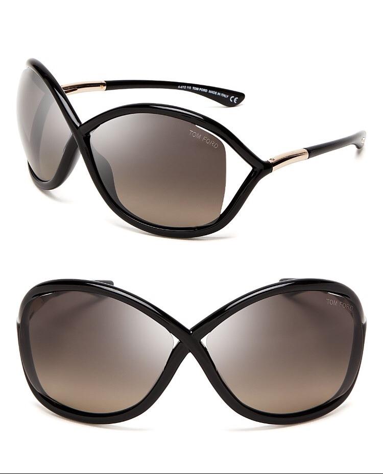 cc3255d7901d7 Óculos De Sol Tom Ford Whitney Original - R  520