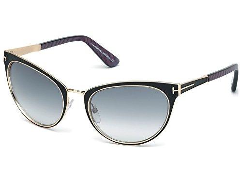 96c1762d35 Tom Ford Stf.00373.01b.56 Gafas De Sol Para Mujer, Color Azu - $ 22,059.00  en Mercado Libre
