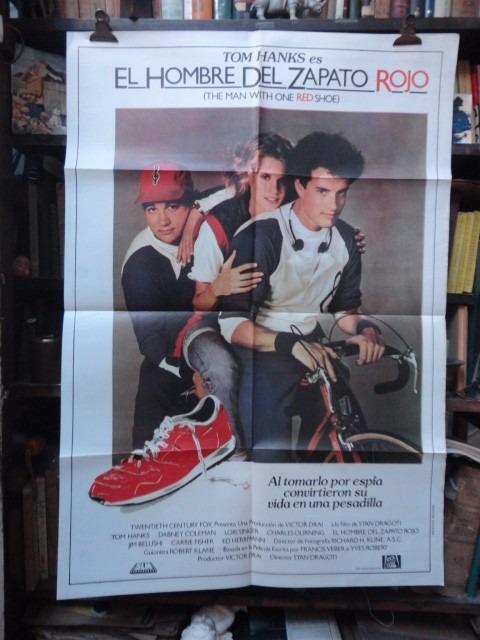 del cine hombre zapato original tom hanks el rojo afiche qPwfBStW
