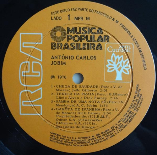 tom jobim - história da música popular brasileira