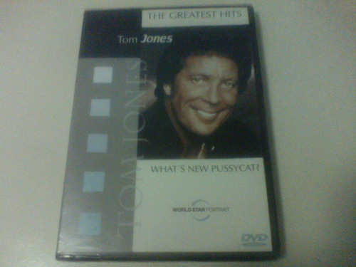 tom jones - what's new pussycat? the greatest hits [dvd]