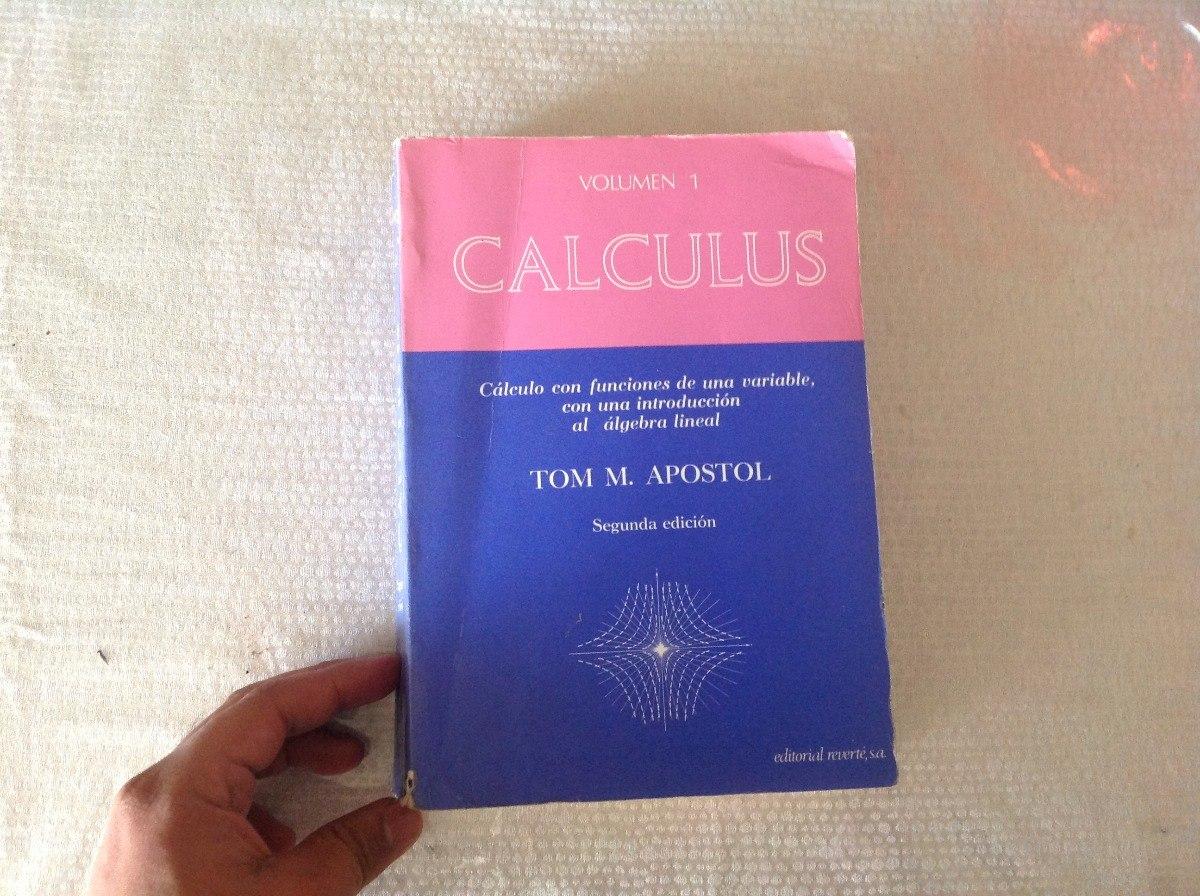 Tom M  Apostol Calculus Volumen 1 - $ 400 00