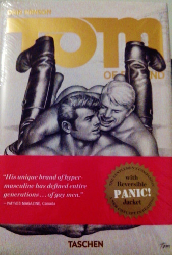 tom of finland - the comics - arte gay  taschen  dian hanson