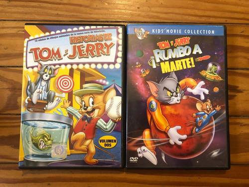 tom y jerry colección 2 películas dvd original oportunidad