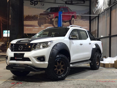 toma aire de cofre nissan np300 frontier 2016-2020 off road