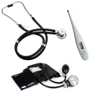 toma presión aneroide + fonendoscopio rappaport + regalos