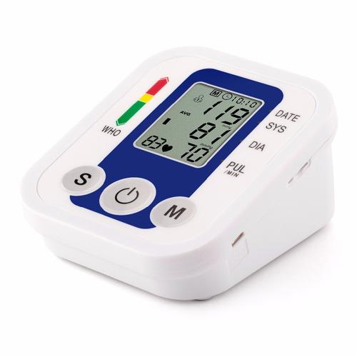 toma presion digital brazo con tensiometro usa pilas o usb