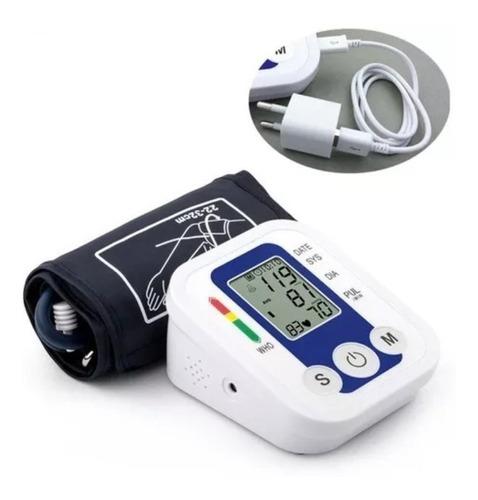 toma presión digital brazo con tensiometro usa pilas o usb