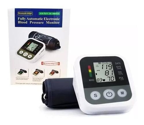 toma presion digital brazo pilas usb + oxímetro saturómetro